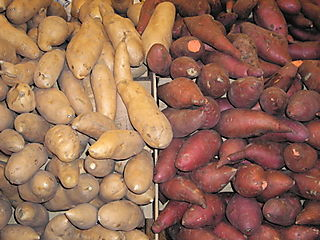 Sweet potatoes & yams