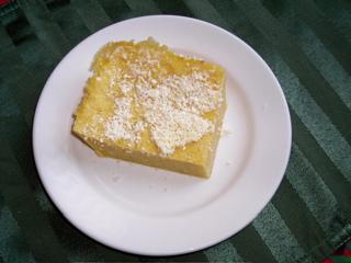Slice of polenta