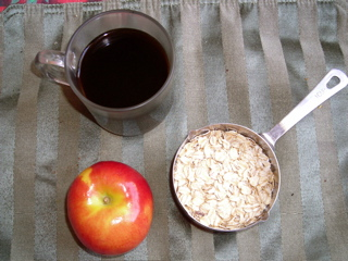 Oats w:coffee