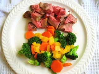 Steak & veg