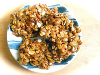 Pumpkin seed candy