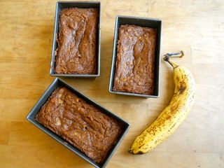 Mini banana breads