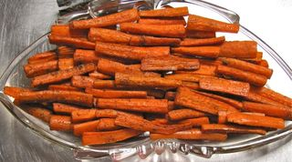 Roasted Carrots, student pic