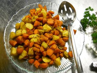 Roasted Carrots & Parsnips