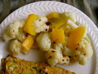 Cauliflower w:bell pepper