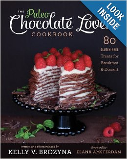 Paleo choc lovers cookbook cover