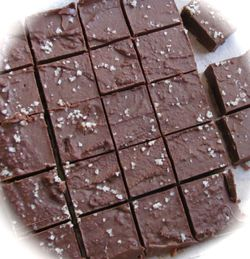 Dark Chocolate Almond Butter Fudge1