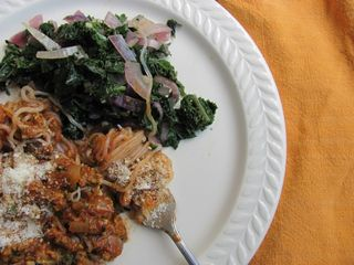 No Oodles with Red Sauce & Kale