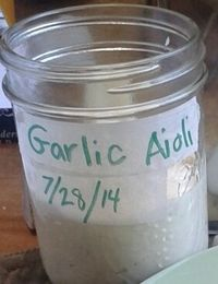Garlic Aioli - Version 2
