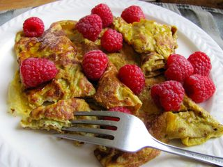 Vanilla Omelet with Cinnamon