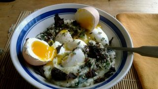 Keto Colcannon with dulse