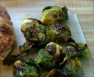 Roasted Brussels 93014